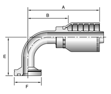 parker-series-77-elbow-fitting-dimensions