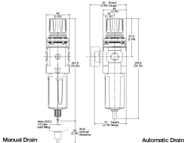 compact-semi-precision-filter-regulator-dimensions